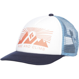 Black Diamond Trucker Hat, white-blue ash